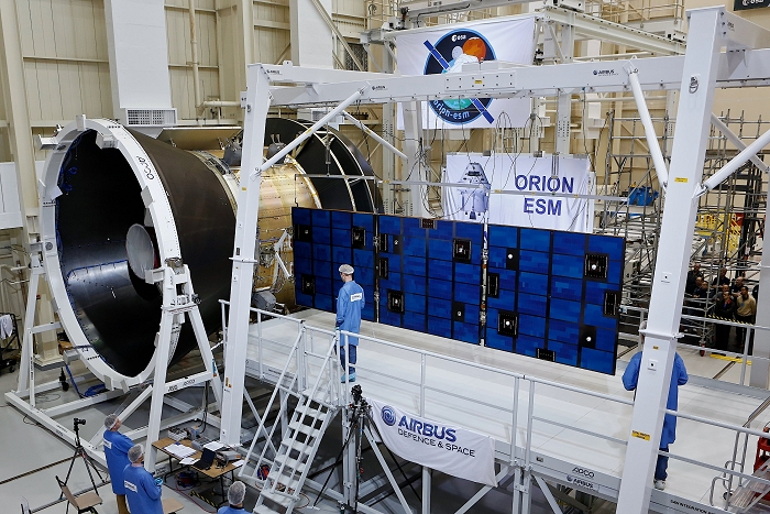 Orion spacecraft's solar array successfully put to the ...