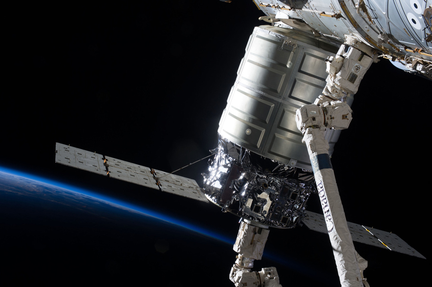 The Cygnus spacecraft